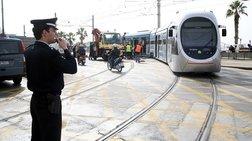 Σύγκρουση λεωφορείου με τραμ στο Νέο Κόσμο-ένας τραυματίας