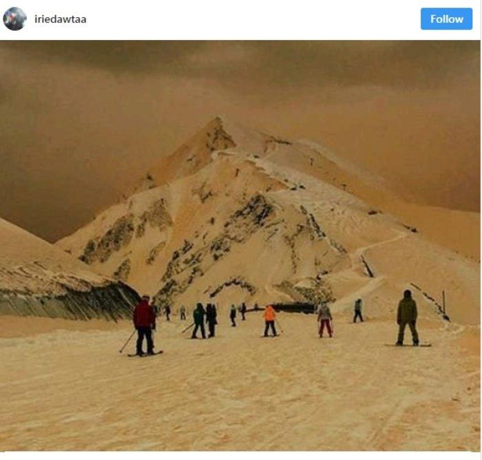 Η σκόνη από τη Σαχάρα μετέτρεψε την ανατολική Ευρώπη σε... Άρη - εικόνα 3
