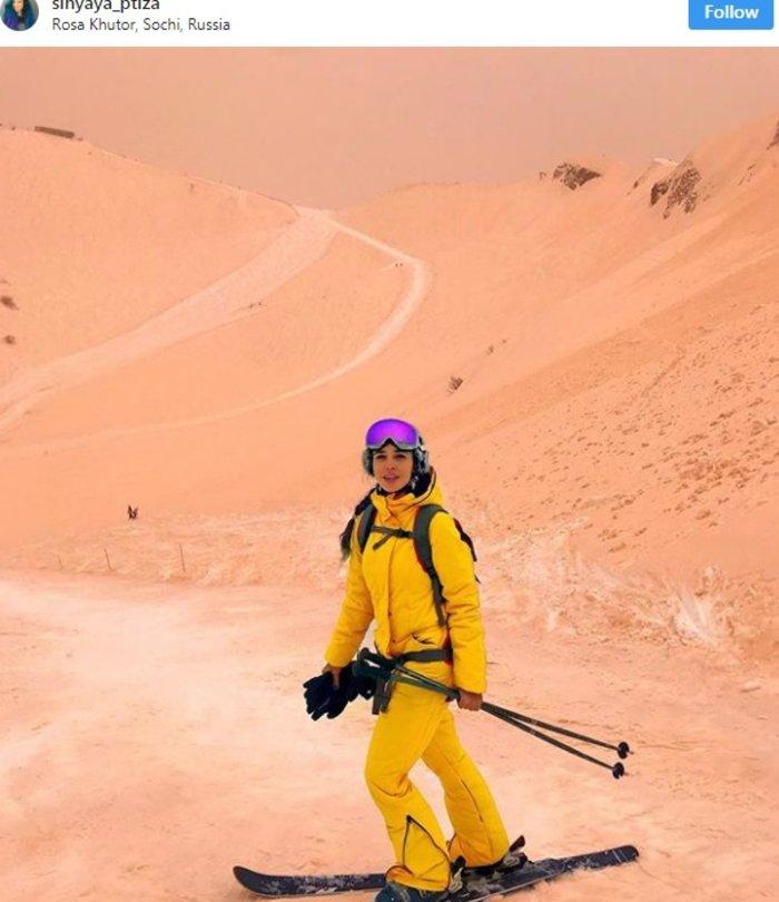 Η σκόνη από τη Σαχάρα μετέτρεψε την ανατολική Ευρώπη σε... Άρη - εικόνα 4