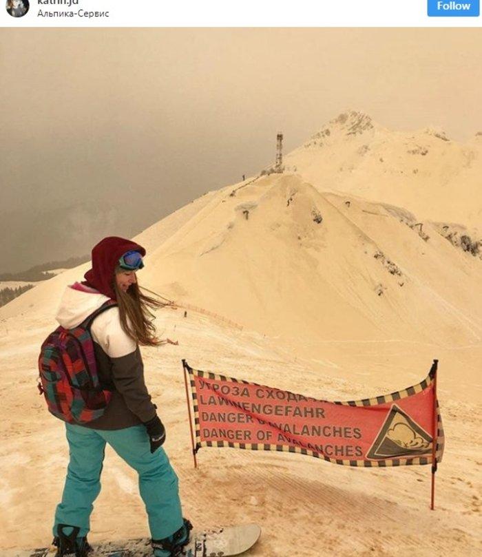 Η σκόνη από τη Σαχάρα μετέτρεψε την ανατολική Ευρώπη σε... Άρη