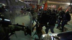 Ενταση στα συλλαλητήρια πριν από την ομιλία Τσίπρα στη Θεσσαλονίκη - Βίντεο