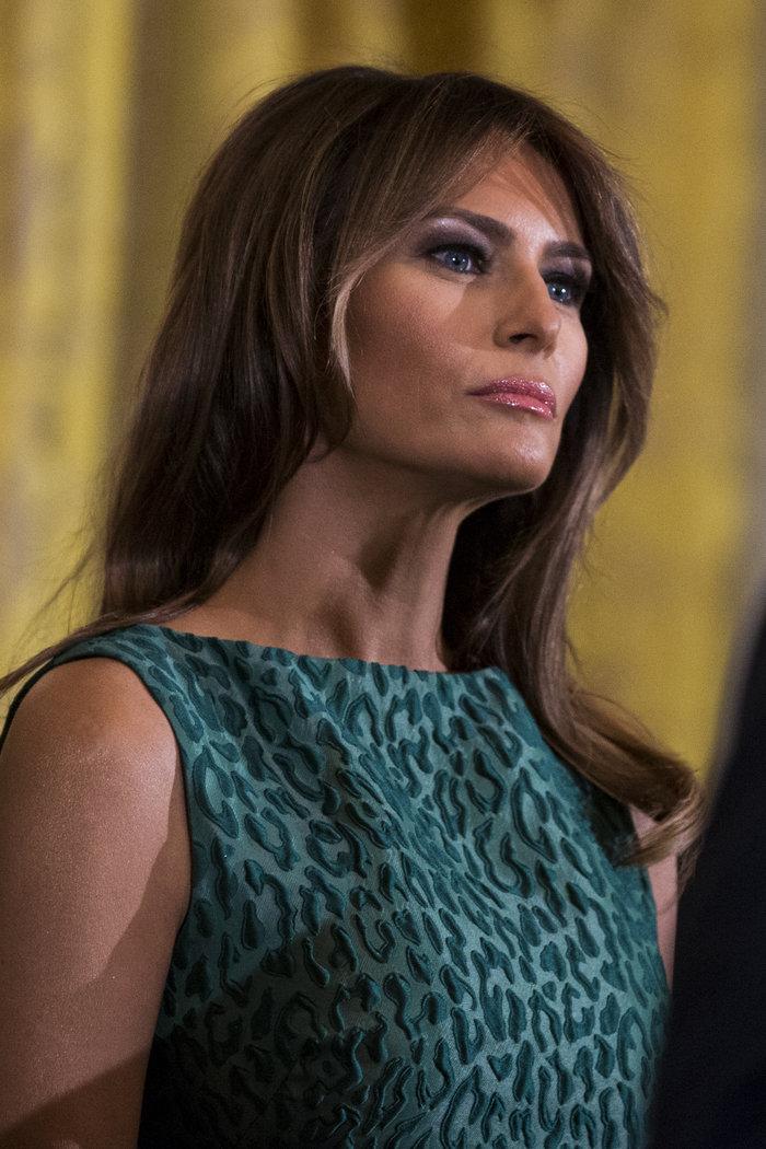 Σε άσχημη ψυχολογική κατάσταση η απομονωμένη Μελάνια Τραμπ