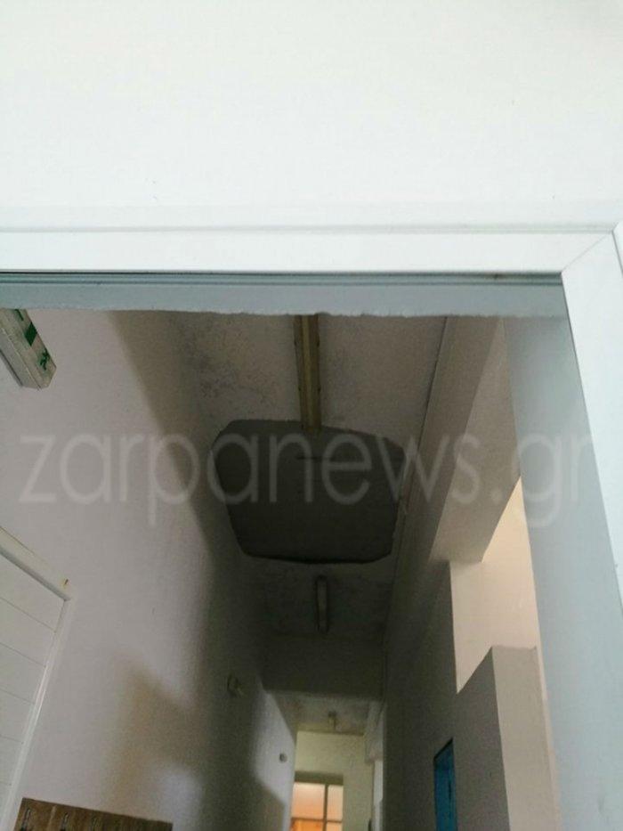Κρήτη: Κατέρρευσε τμήμα οροφής κολυμβητηρίου ενώ ήταν γεμάτο παιδιά Εικόνες - εικόνα 2