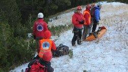 Διασώθηκε ο Γάλλος ορειβάτης, μεταφέρεται στο Λιτόχωρο