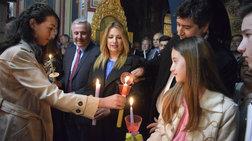 Το φιλί του Αλέξη Τσίπρα στην σύζυγό του(Video) - η Φώφη στο Ναύπλιο(Video)