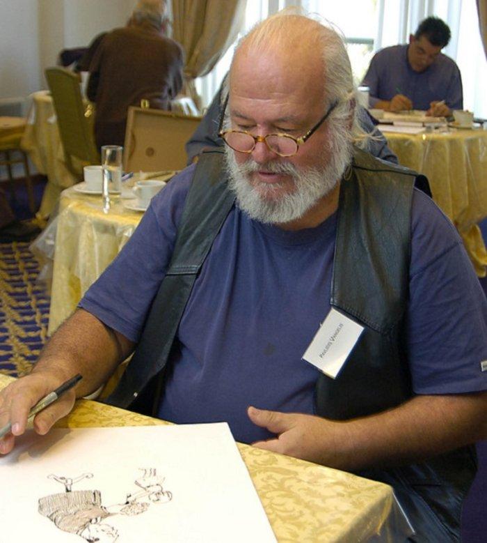 Πέθανε στα 74 του ο γνωστός σκιτσογράφος Βαγγέλης Παυλίδης