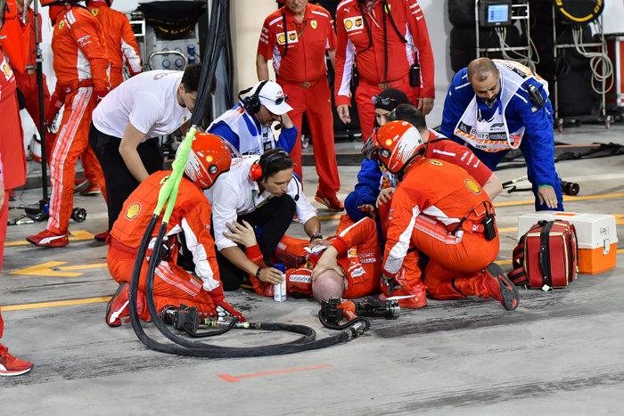 Σοκαριστικός τραυματισμός μηχανικού της Ferrari