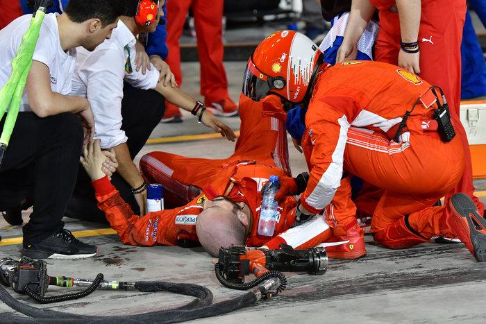 Σοκαριστικός τραυματισμός μηχανικού της Ferrari - εικόνα 2