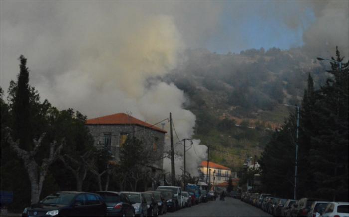 """""""Πνίγηκε"""" η Αράχωβα στους καπνούς από τα ψητά αρνιά"""
