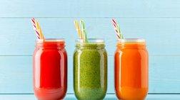 Τρεις απλοί αντιοξειδωτικοί χυμοί που πρέπει να βάλεις στη διατροφή σου