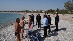Πλήρης άρση της απαγόρευσης κολύμβησης στο Σαρωνικό λόγω του ΑΓΙΑ ΖΩΝΗ