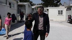 Περιοδεία Θεοδωράκη στη Λέσβο, προτάσεις για το προσφυγικό