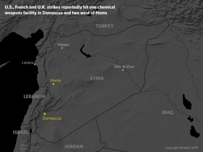 Stratfor: Ποιοι είναι οι πραγματικοί στόχοι της επίθεσης στη Συρία