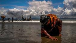 To βραβευμένο με Πούλιτζερ φωτορεπορτάζ του Reuters για τους  Ροχίνγκια