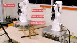 Δείτε το ρομπότ να συναρμολογεί έπιπλα του IKEA