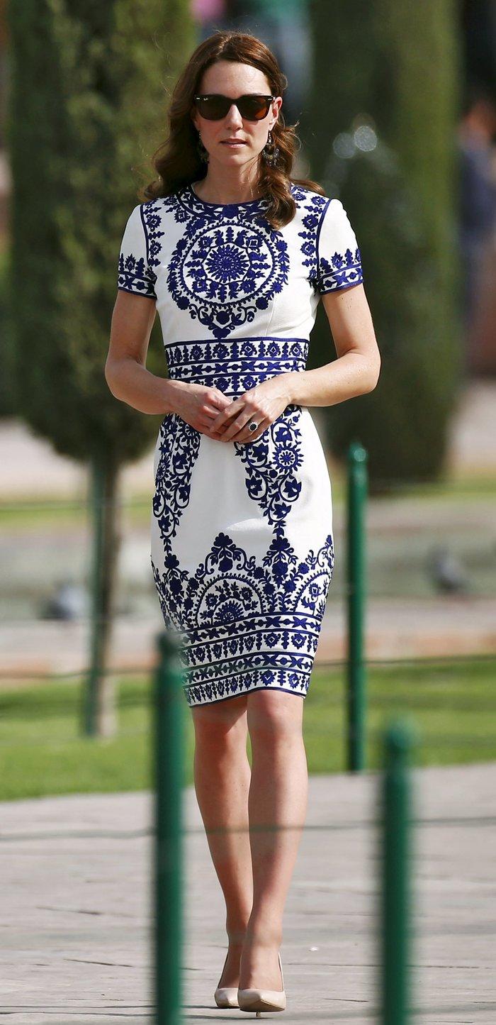 Γιατί η Κέιτ Μίντλετον δεν θα φορούσε ποτέ το ριγέ φόρεμα της Μαρκλ - εικόνα 16