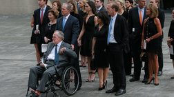 Λύγισε ο Μπους στο τελευταίο αντίο στην Μπάρμπαρα [Βίντεο-Εικόνες]