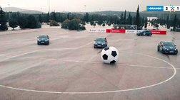 Το Nissan MICRA  ξέρει να παίζει και ποδόσφαιρο!