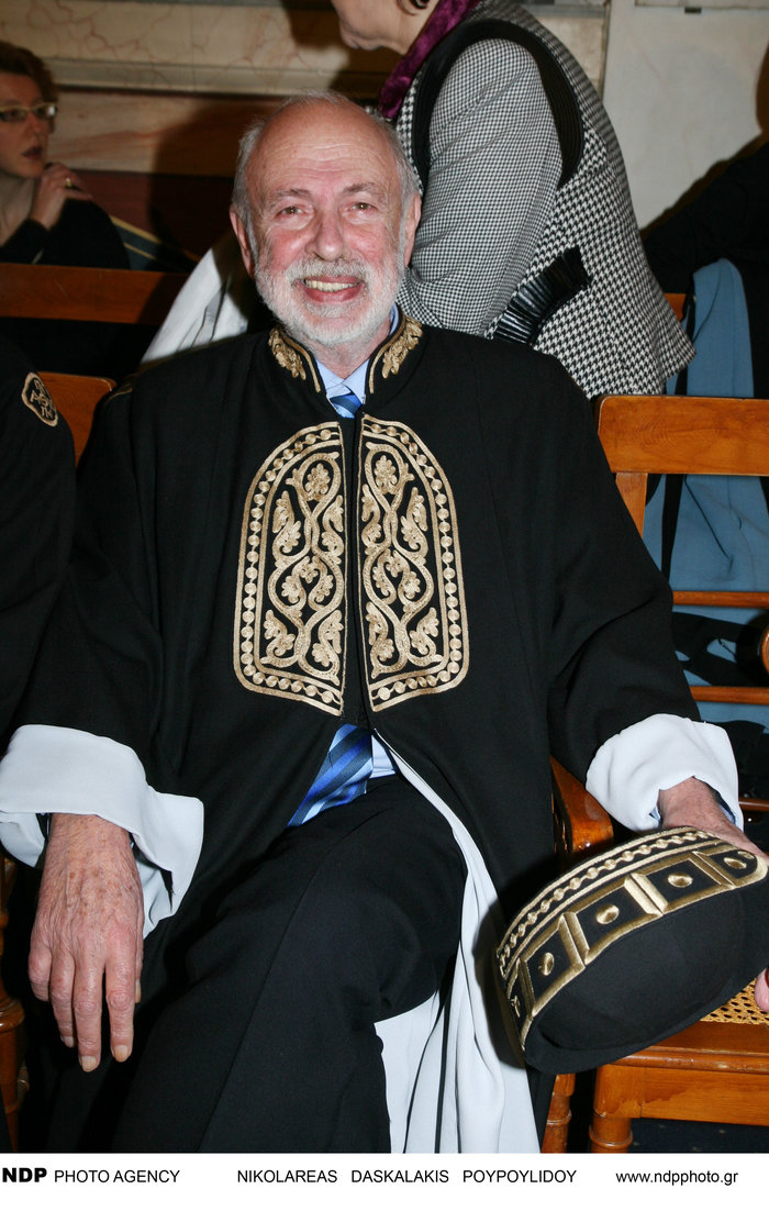 Ο Αγγελος Δεληβορριάς στην Ακαδημία Αθηνών