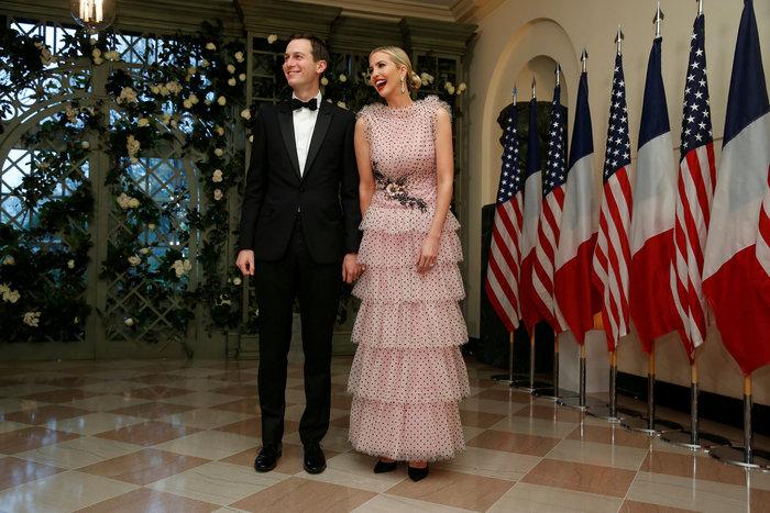 Η Ιβάνκα Τραμπ φόρεσε το πιο ρομαντικό, αέρινο φόρεμα [Εικόνες]