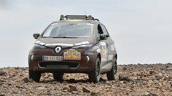 Πήγαν στη Σαχάρα με το ηλεκτρικό δικίνητο Renault Zoe!