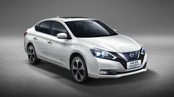 Το  ηλεκτρικό σεντάν Nissan Sylphy στην Εκθεση Αυτοκινήτου της Κίνας