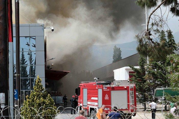 """Ξάνθη: """"Πνιγμένη"""" στο νέφος η περιοχή γύρω από το εργοστάσιο της Sunlight"""
