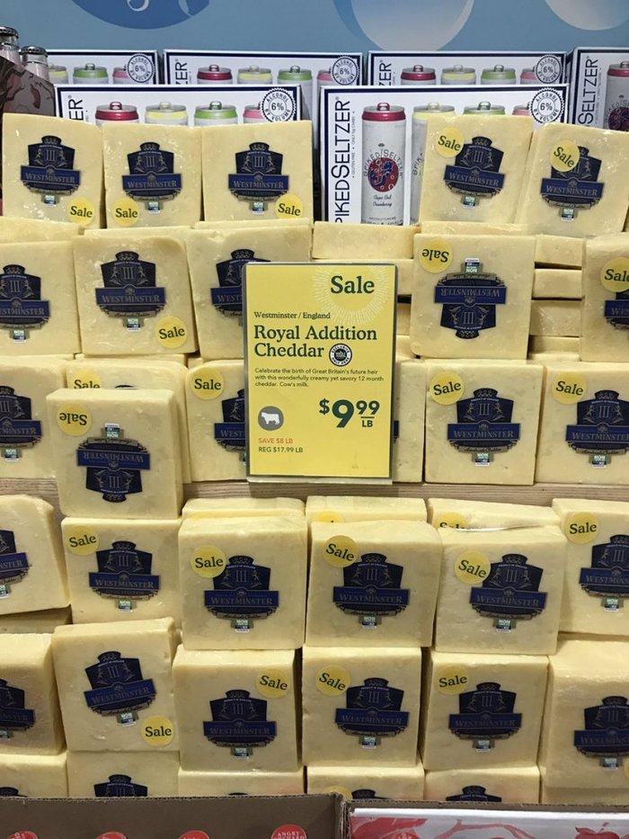 Το βασιλικό μωρό έχει το δικό του τυρί! Πωλείται ήδη στις ΗΠΑ