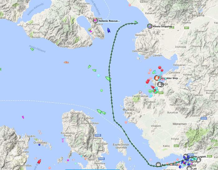 Ατύχημα βλέπει η Αθήνα πίσω από το συμβάν με το τουρκικό πλοίο