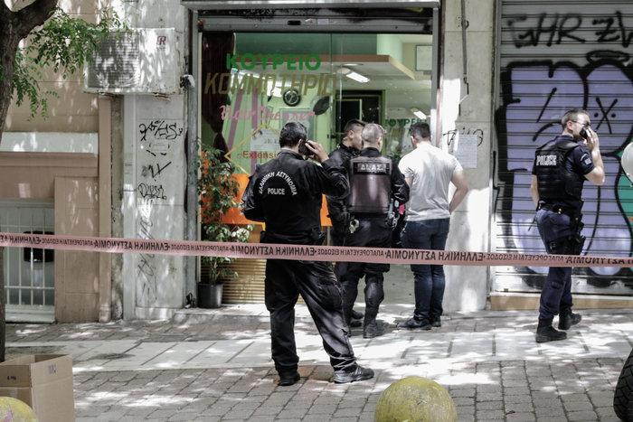 Πυροβόλησαν Αλβανό σε κομμωτήριο στην πλατεία Βικτωρίας