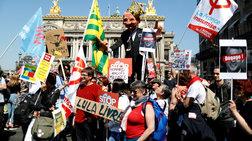 """""""Πάρτι"""" στο Παρίσι κατά του Μακρόν και των μεταρρυθμίσεών του (φωτό)"""