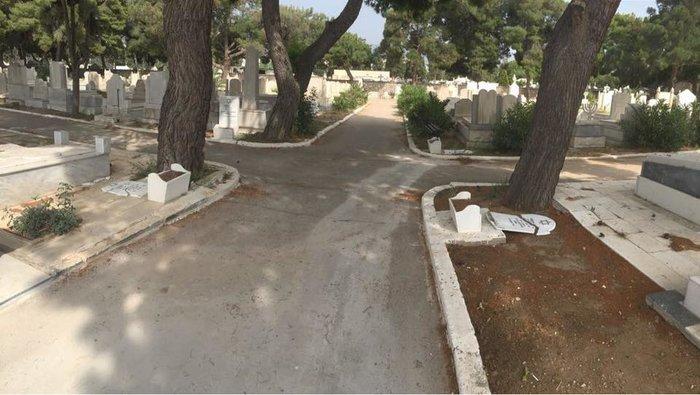 Βανδαλισμοί σε τάφους της εβραϊκής κοινότητας στο Γ' νεκροταφείο