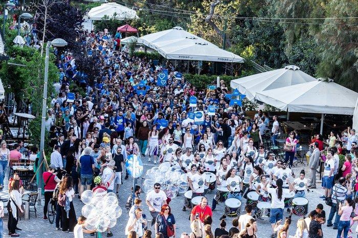 Παγκόσμια Ημέρα Ευχής και στην Αθήνα με ένα γιγάντιο Μήνυμα Ελπίδας