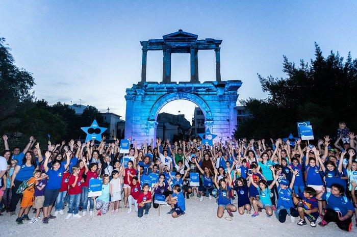 Παγκόσμια Ημέρα Ευχής και στην Αθήνα με ένα γιγάντιο Μήνυμα Ελπίδας - εικόνα 5