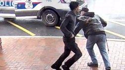 Το... άδοξο τέλος διαφυγής ενόπλου: Τρικλοποδιά από πολίτη με μπαστούνι