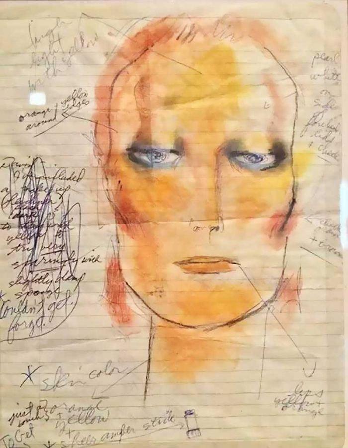 Ντέιβιντ Μπάουι, ένας υπέροχος... ζωγράφος: Αυτά είναι τα έργα του - εικόνα 2