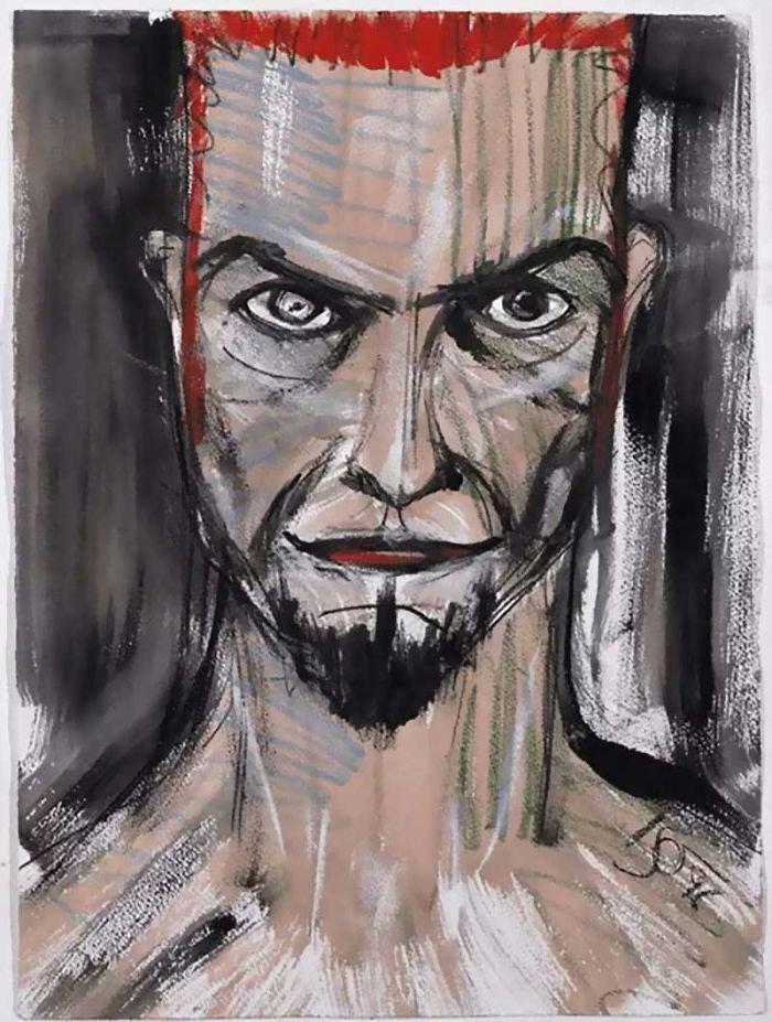 Ντέιβιντ Μπάουι, ένας υπέροχος... ζωγράφος: Αυτά είναι τα έργα του - εικόνα 3