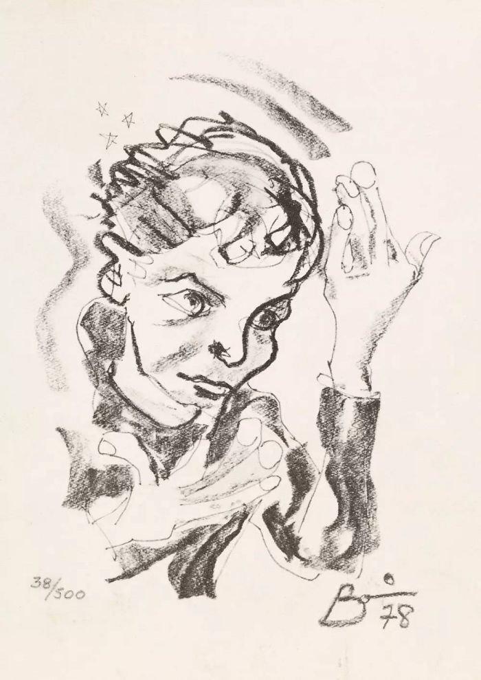 Ντέιβιντ Μπάουι, ένας υπέροχος... ζωγράφος: Αυτά είναι τα έργα του - εικόνα 4