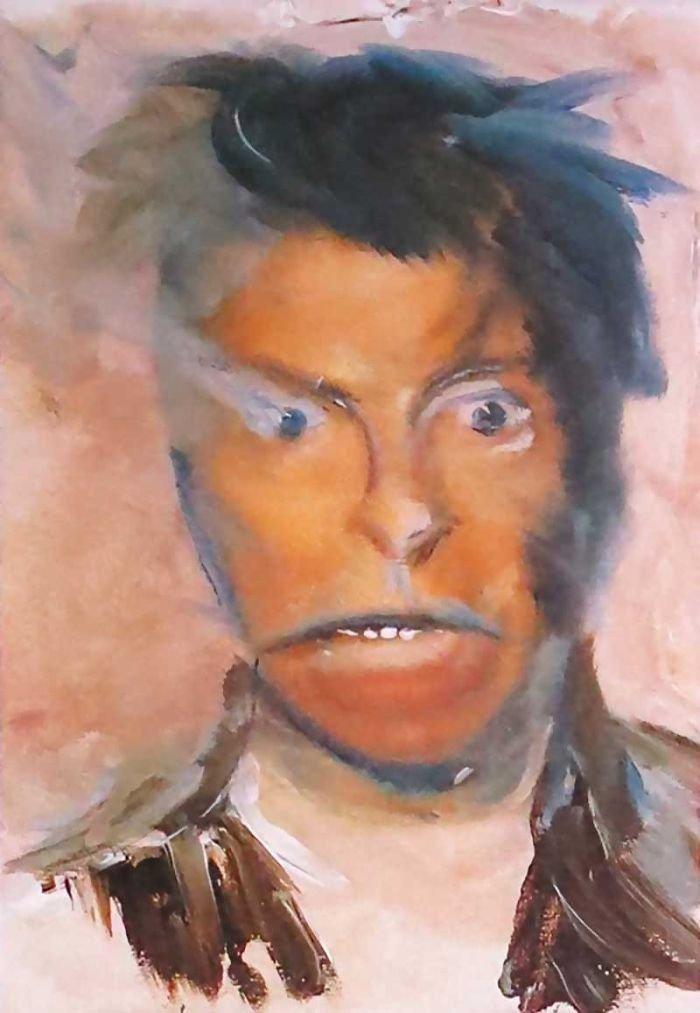 Ντέιβιντ Μπάουι, ένας υπέροχος... ζωγράφος: Αυτά είναι τα έργα του - εικόνα 5