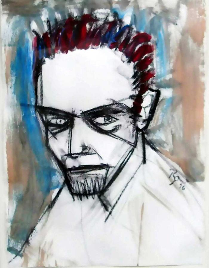 Ντέιβιντ Μπάουι, ένας υπέροχος... ζωγράφος: Αυτά είναι τα έργα του - εικόνα 6