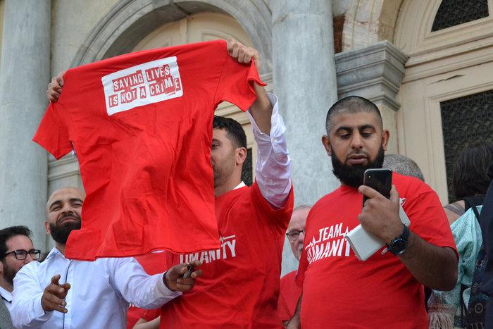 Μυτιλήνη: Αθώοι οι πέντε ξένοι διασώστες - μέλη ΜΚΟ