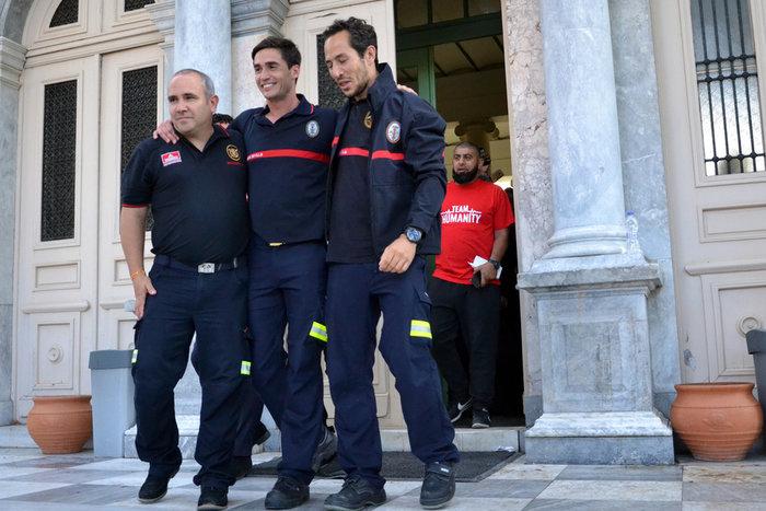 Μυτιλήνη: Αθώοι οι πέντε ξένοι διασώστες - μέλη ΜΚΟ - εικόνα 4