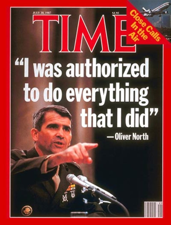Ο Ολιβερ Νορθ νέος πρόεδρος του πανίσχυρου NRA