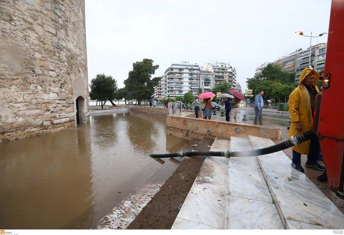 Κλειστά σχολεία αύριο στη Θεσσαλονίκη λόγω της καταιγίδας - εικόνα 6