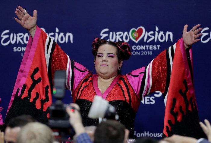 """Το Ισραήλ & η """"διαφορετική"""" Νέτα στην κορυφή της Eurovision - εικόνα 3"""
