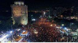 Αποθέωση του κυπελλούχου ΠΑΟΚ στην Θεσσαλονίκη [Εικόνες- Βίντεο]
