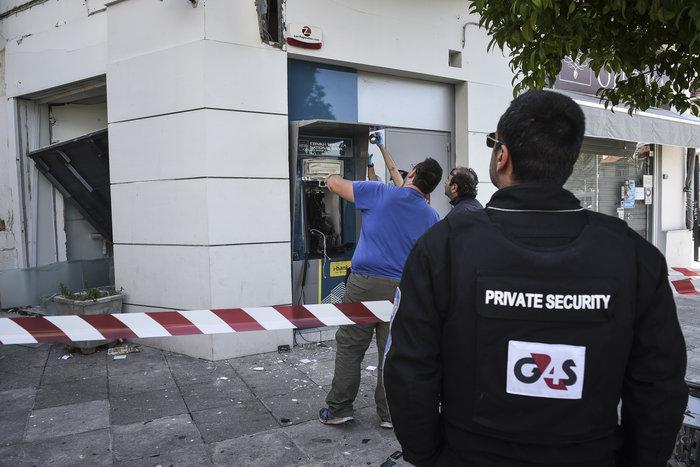 Ανατίναξαν δύο ΑΤΜ σε Υμηττό και Παλλήνη τα ξημερώματα
