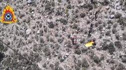 Η στιγμή της διάσωσης 19χρονου Ολλανδού πεζοπόρου από Super Puma (βίντεο)