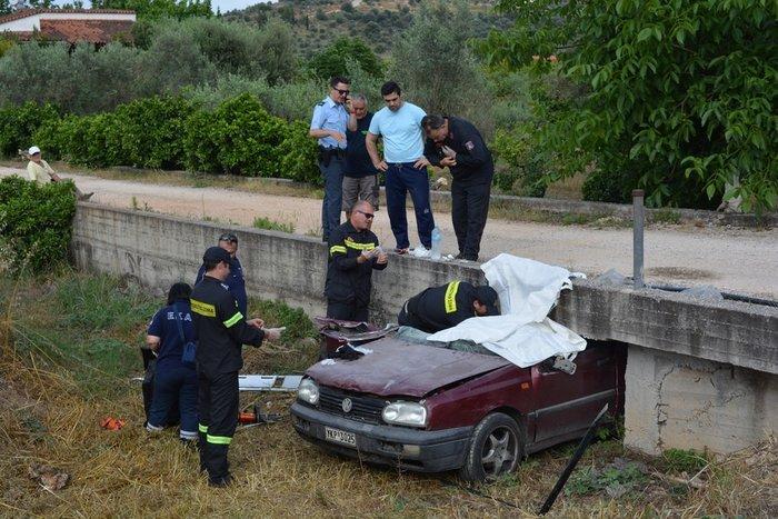 Σοκαριστικό τροχαίο με έναν νεκρό στο Ναύπλιο - Βίντεο Εικόνες