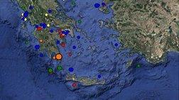 Σεισμός 4,6 Ρίχτερ στη Νεάπολη Λακωνίας-αισθητός στην Αττική